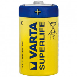 Batterie, SUPERLIFE, Baby, R14, 1,5V - Varta