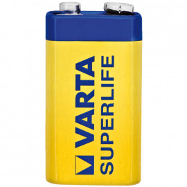 Batterie, SUPERLIFE, Block, 6F22R, 9V - Varta
