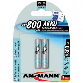 Akku, MAX E, NiMh, 1,2V / 800 mAh, Micro vorgeladen (Blisterware)