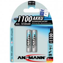 Akku, PROFESSIONAL, NiMh, 1,2V / 1050 mAh, Micro (Blisterware)