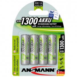 Akku, BASIC, NiMh, 1,2V / 1300 mAh, Mignon (Blisterware)