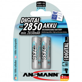 Akku, SPEZIAL DIGITAL, NiMh, 1,2V / 2650 mAh, Mignon für Kameras (Blisterware)