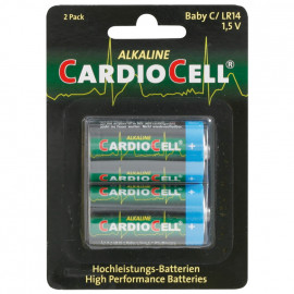 Batterie, Alkaline, Baby, LR14, C, 1,5V - Cardiocell