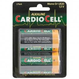 Batterie, Alkaline, Mono, LR20, D, 1,5V - Cardiocell