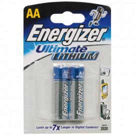 Batterie, ULTIMATE, Lithium, Mignon, Länge 91mm, 1,5V (Blisterware)