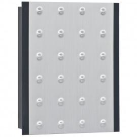 Gong, Doppelklang, 8-12V oder für 9V Block Batterie, anthrazit / silber metallic  Bittorf