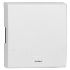 Gong, D 142, Doppelklang, 8V oder für 4 Baby Batterien, weiß  Friedland