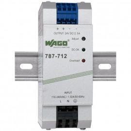 Reiheneinbau Netzgerät, EPSITRON®ECO, 787-712, Ausgang DC 24V/2,5A - Wago