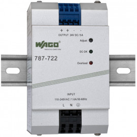 Reiheneinbau Netzgerät, EPSITRON®ECO, 787-722, Ausgang DC 24V / 5A - Wago