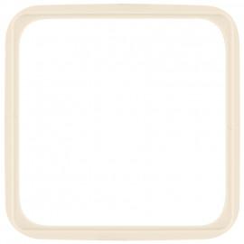 Adapterrahmen für Fremdgeräte mit 50 x 50 mm Zentralplatte für KLEIN SI® weiß