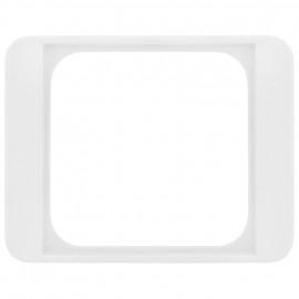Adapterrahmen für Fremdgeräte 50 x 50 mm mit Zentralplatte für B+J® alpha nea reinweiß