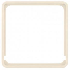 Adapterrahmen für Fremdgeräte mit 50 x 50 mm Zentralplatte für Berker® Modul 2 weiß