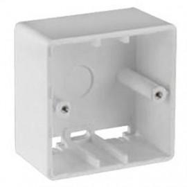 Aufputz Gehäuse für Unterputz Bauformen, UAE CAT, weiß, Rutenbeck