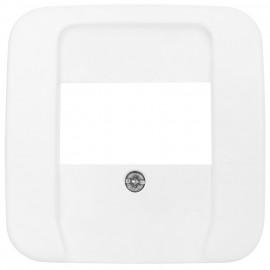 Schaltereinsatz Zentralplatte für 3 fach TAE Steckdose, REFLEX SI alpinweiß