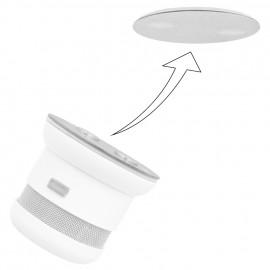 MAGNET-Befestigungsset für Rauchmelder, Sockel-Element, 2 x  Ø 50