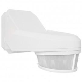 Bewegungsmelder, SWISS GARDE 4000, Erfassungswinkel 240° einstellbar, IP54, weiß