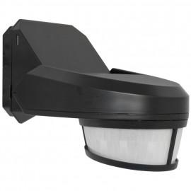 Bewegungsmelder, SWISS GARDE 4000, Erfassungswinkel 240° einstellbar schwarz