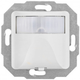 Bewegungsmelder Kombi, 0 - 1000 VA, mit Zentralplatte 50 x 50 mm, MERIDIAN reinweiß