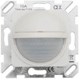 Bewegungsmelder mit integriertem Präsenzmelder, 2000W / 500VA, reinweiß