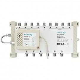 Multischalter, SPU 96-05, 6 ach für Quattro LNBs Axing