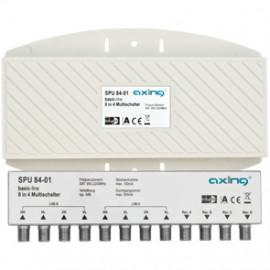 SAT Multischalter, SPU 84-01 Stromversorgung durch den Receiver Axing