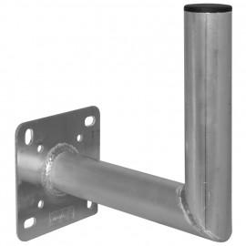 Alu Wandhalter für Offset Antennen Ausl. 250 mm, Höhe 250 mm