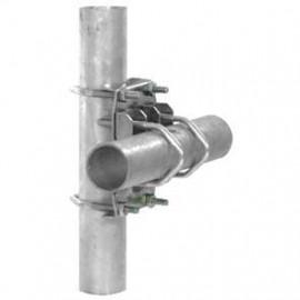 Doppelkreuzschelle, für Rohr Ø bis 60 mm
