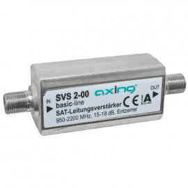 SAT Leitungsverstärker, digitaltauglich  SVS 2-00 Axing