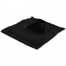 Dachhaube, Kunststoff schwarz für Rohre bis Ø 60 mm