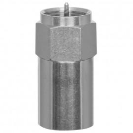 F Verbinder Schraubstecker / Quick Fix Schnellstecker Axing