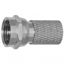 F Stecker, CFS 0-00 für Kabel-Ø 6,8-7 mm Axing