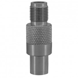 Premium Laboradapter, IEC Stecker / F Schraubbuchse Axing