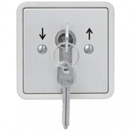 Schlüsseltaster Unterputz für Garagentore, IP 55, 230V/10A Kaiser Nienhaus