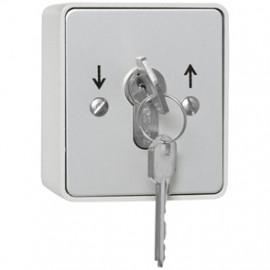 Schlüsseltaster Aufputz für Garagentore, IP 55, 230V / 10A Kaiser Nienhaus