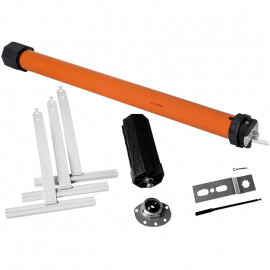 Rohrmotor Set, 230V / 113W  ELECTRONIC MERCATO, 10 Nm bis 3,5 m² für Welle Ø 60