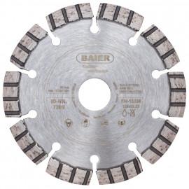 Diamant-Trennscheibe, TURBO PREMIUM, Belag 10 mm Baier