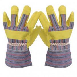 Arbeitshandschuh PVC gelb