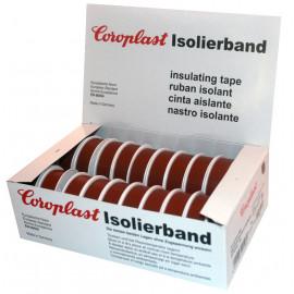Coroplast Box PVC Isolierband Breite 15 mm, Länge 10 m Farbe braun Inhalt 20 Stück