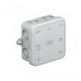 Kabeldose, AP, 7 Einführungen für Kabel-Ø 14, OBO Typ A8 VDE IP55 Thermoplast