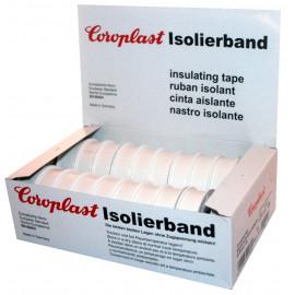 Coroplast Box PVC Isolierband Breite 15 mm, Länge 10 m Farbe weiß Inhalt 20 Stück