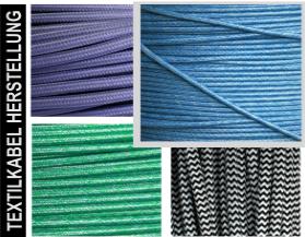Textilkabel und Lampenkabel Programm